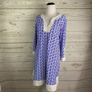 Jude Connally Chain Link Print Tunic Kennedy Dress